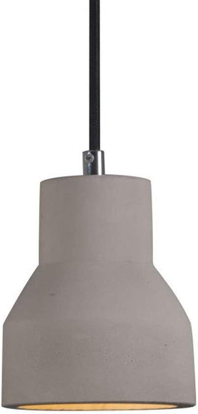 Colgando colgante luces LED Isla de cocina Iluminación hormigón Shade Cemento de techo Cuerpo de iluminación industrial Decoración para comedor Habitación Coffee Club de Resturant Bar Sala de estar: Amazon.es: Bricolaje y
