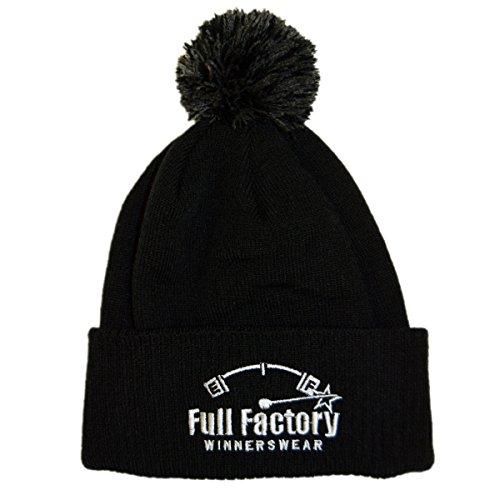 punto Negro de para Full hombre Gorro Talla Winnerswear Factory negro única tqnw0r0IXU