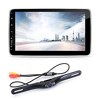 Image of 10.1-Inch Double DIN Car Stereo - Bluetooth Indash Car Stereo Touch Screen Receiver Head Unit with Backup Camera, USB, AM FM Radio, Steering Wheel Control, Hands-Free Call, Phone Link - Pyle PL2DN105 Car Stereo Receivers