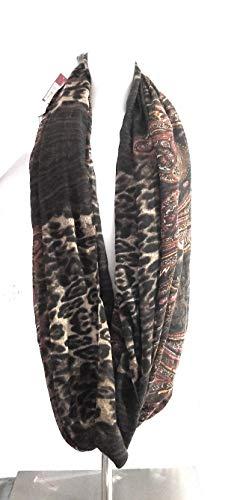 Merona Women's Scarf Printed Animal Color Brown Scarf