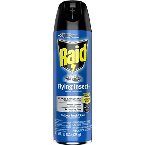Flying Insect Killer Spray (Raid Flying Insect Killer Insecticide Spray, 15 oz-2 pk)