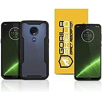 Capa Dual Shock + Película de Vidro para Motorola Moto G7 Plus - Gorila Shield