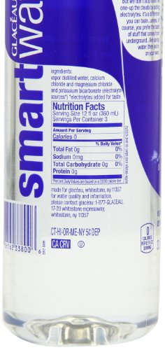 Glaceau Smart Water 33 8 Ounce Pack Of 12 Buy Online