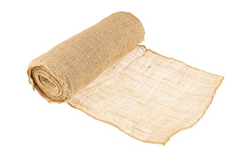 (Clever Creations Natural Rustic Burlap | Finished Edges | Perfect Decor for Weddings, Table Runners, Gardens DIY Crafts | 12