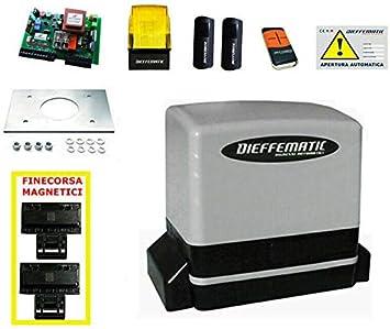 Kit para Puerta corredera 230 V 600 kg Automatic Nice Robus Road: Amazon.es: Bricolaje y herramientas