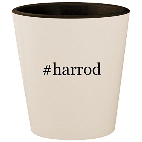 #harrod - Hashtag White Outer & Black Inner Ceramic 1.5oz Shot Glass