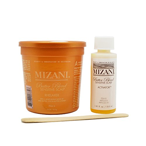 Mizani Butter Blend Sensitive Scalp Rhelaxer 7.5oz with Activator 1.81oz - Single - Scalp Sensitive Mizani