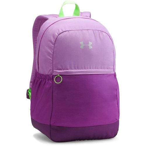 Under Armour Girls' Favorite Backpack, Purple Rave (959)/Metallic Silver, One Size