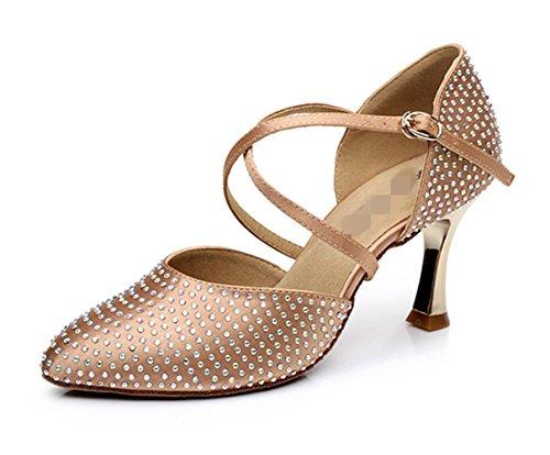 Zapatos femeninos de la danza / zapatos profesionales de la danza / zapatos suaves de la danza golden