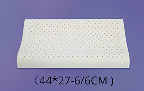 Particles Massage Help Sleep and Protect The Cervical Spine Natural Emulsion Memory Anti-Mite Relieve Cervical Spine Pain/Relieve Neck Muscle Tension Long Lasting Elasticity,D ()