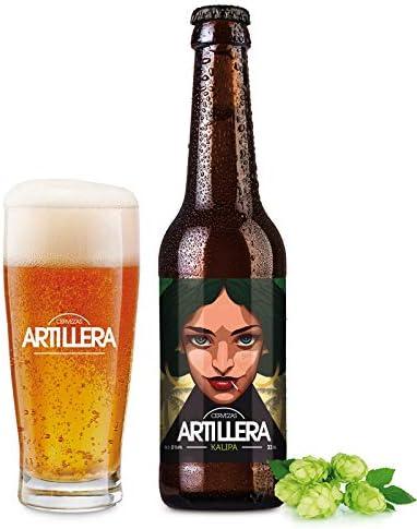Cervezas Artillera - Pack de 4 cervezas artesanas de 33 cl - Kalipa