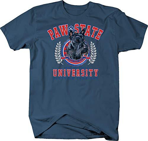 Paw State University Scottish Terrier Dog Custom Tshirt - Medium