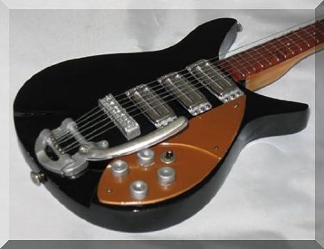 Guitarra en miniatura, diseño de John Lennon de 58 Rickenbacker Beatles: Amazon.es: Instrumentos musicales
