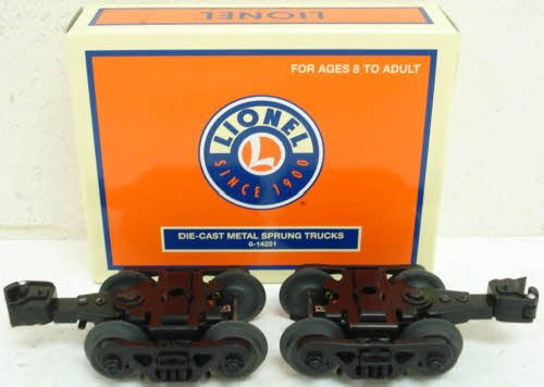 LIONEL 6-14251 Die-Cast Sprung Truck w/Rotating Bearing by Unknown ()