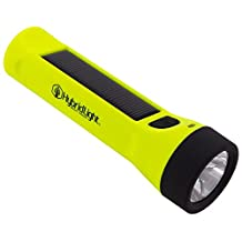 Hybridlight Journey - Solar / Rechargeable 160 Lumen LED Waterproof Flashlight. High / Low Beam, USB Cell Phone Charger, Built In Solar Panel Charges Indoors or Out,  Quick Charge using Included USB Cable.