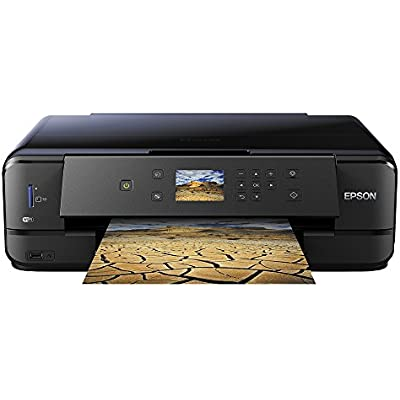 Epson Expression Premium XP-900 Print Scan Copy Wi-Fi Printer  Black  Amazon Dash Replenishment Ready