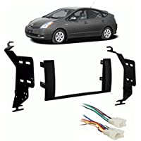 Fits Toyota Prius 2004-2009 Double DIN Stereo Harness Radio Install Dash Kit