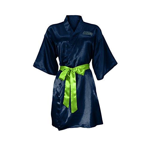 Apparel Robe - Littlearth NFL Dallas Cowboys Satin Kimono, Large/XL