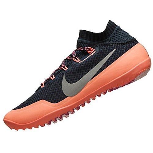 Nike Womens Free Hyperfeel Shoes Blue/silver 4xTgUCACxv
