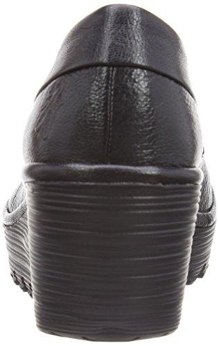 Fly LondonYoko Mousse - Zapatos de vestir mujer Negro - negro
