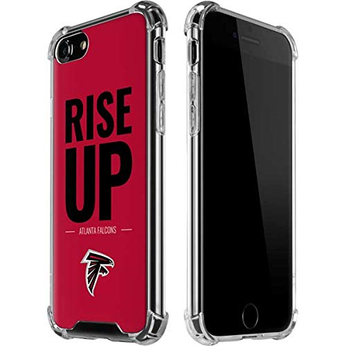 - Skinit Atlanta Falcons iPhone 8 Clear Case - Officially Licensed NFL Phone Case - Transparent iPhone 8 Cover