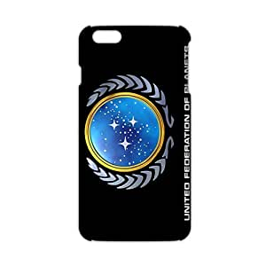 Diyphonestore Star trek logos united federation planets (3D)Phone Case for iPhone 6plus