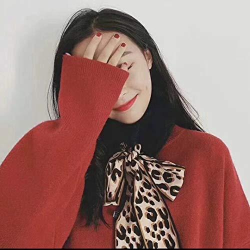 purplish Echarpe Acvip Print Red Femme Leopard Pink xt4qwad4