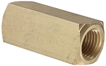 "Parker 003393001 339 Series Brass Check Valve, 1/4"" NPT Female"