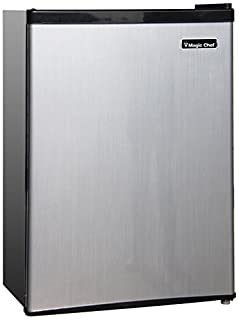 Magic Chef MCBR240S1 Refrigerator, 2.4 cu.ft, Stainless Look, Steel (B00TY2KQYA) | Amazon Products