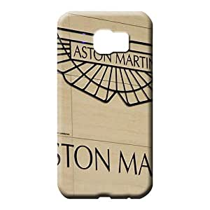 samsung galaxy s6 edge Hybrid Style Perfect Design cell phone carrying cases Aston martin Luxury car logo super