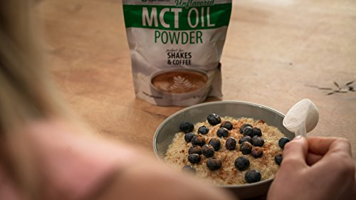 MCT Oil Powder - Delicious Creamer for Coffee, Tea, Smoothie, Recipe - Perfect Supplement for Keto, Ketogenic Diet - Easy Digestion & Instant Energy - Non GMO, Gluten Free, Soy Free - 6 oz