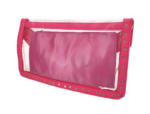 Things2Die4 - Cartera de mano mujer hot pink