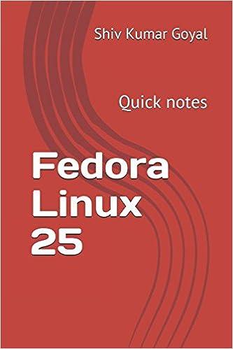 Fedora Linux 25: Quick notes