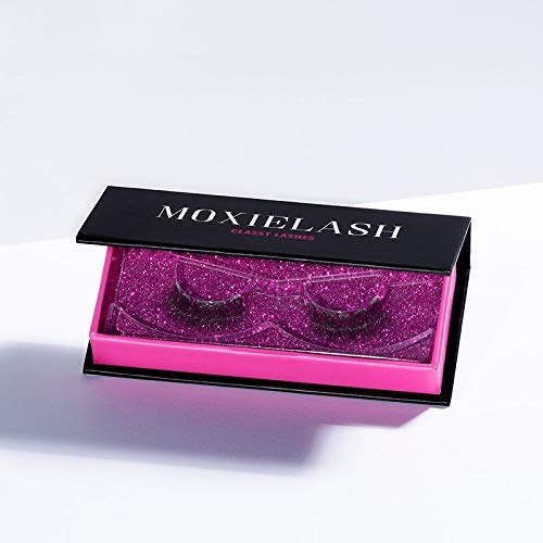 MoxieLash Classy Bundle - Magnetic Gel Eyeliner for Magnetic Eyelashes - No Glue & Mess Free - Fast & Easy Application - Set of Classy Lashes & Brush Included