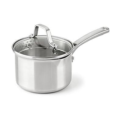 Calphalon Classic Stainless Steel Cookware, Sauce Pan, 1 1/2-quart