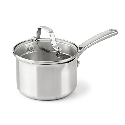 ainless Steel Cookware, Sauce Pan, 1 1/2-quart ()