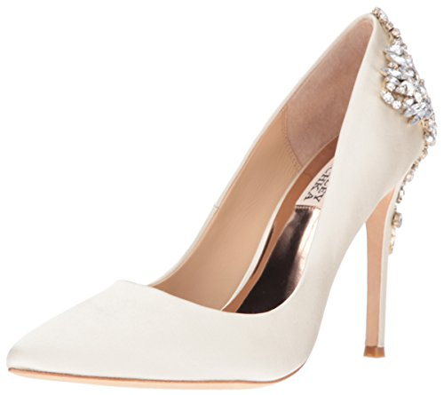 Badgley Mischka Womens Gorgeous Dress Pump Ivory