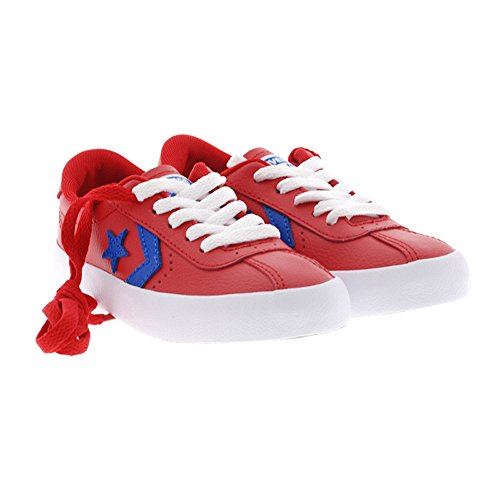 Sneakers rojas cordón Converse Break Point Ox Rojo