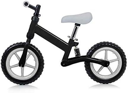 Bicicleta De Equilibrio De Los Niños, Corta De Amigos para Bicicletas del Bebé Muchacho del Niño del Interior Actividades Al Aire Libre, para Niños Y Niñas De 3-6 Años De Bicicleta,Negro: Amazon.es: