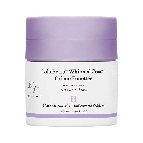 (Drunk Elephant Lala Retro Whipped Cream - Anti-Aging Moisturizer for Dry Skin (1.69 fl oz))
