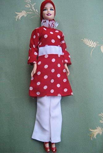 Muslim Doll With Handmade Clothes Hijab Hijabi Doll Girls Eid Gift
