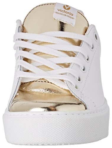 Victoria Deportivo Piel, Baskets Basses Femme Or (Oro)