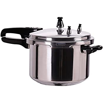 DPThouse Pressure Cooker Aluminum Kitchen Cookware Canner Pot Fast Pressure Cooker 6-Quart