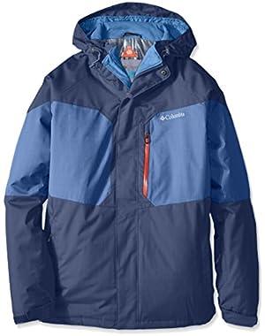 Columbia Men's Alpine Action Jacket, Collegiate Navy/Night Tide, XX-Large
