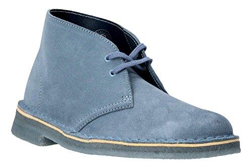 CLARKS Stivaletto 26.134.032 Blu Desert Boot 38 Blue
