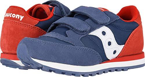 a0eff3b633ba Saucony Kids Boy s Originals Jazz Double Hook   Loop (Little Kid) Blue Red