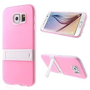 LD A000024 de vídeo diseño de funda con función atril para Samsung Galaxy S6 G920 rosa