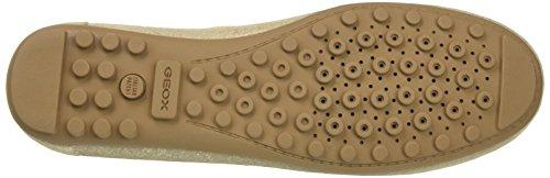 Geox LEELYAN A, Mocassins (Loafers) Femme Or (Gold)