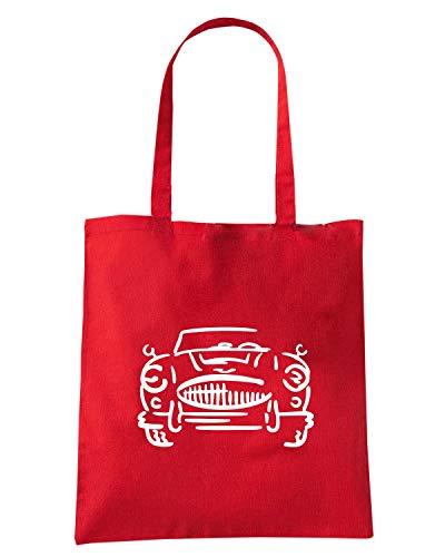Speed Shirt Borsa Shopper Rossa FUN0655 AUSTIN HEALEY