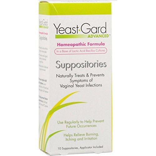 Women's Health Yeast-Gard Advanced Suppositories - 10 Suppositories, 12 Pack by Women'S Health
